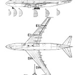 Boeing 747 blueprint