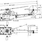 Bell UH-1Y Venom blueprint