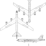 B-52 Stratofortress blueprint