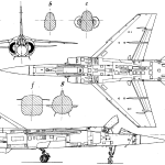 Mirage F1 blueprint