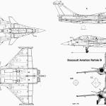 Dassault Rafale B blueprint