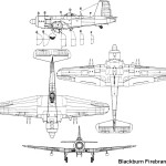Blackburn Firebrand blueprint
