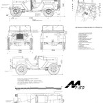 GAZ-67 blueprint
