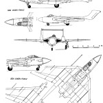 de Havilland Sea Vixen blueprint