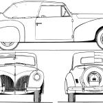 Lincoln Zephyr blueprint