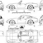 Lotus Elan blueprint