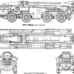 MAZ 543P blueprint