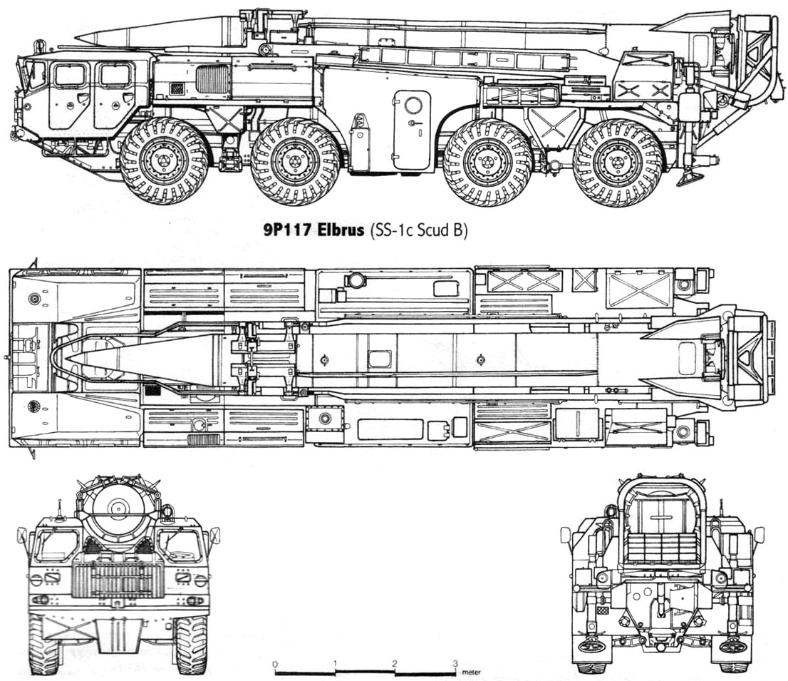 MAZ 543P blueprint