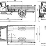 MAZ-200 blueprint