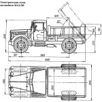 maz-205 blueprint