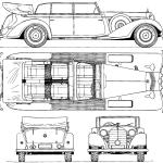 Mercedes-Benz 770 blueprint