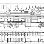 Neoplan AN440 blueprint