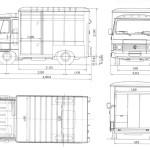 Peugeot J9 blueprint
