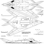 Lockheed F-117A Nighthawk blueprint