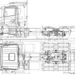 Scania T-series blueprint