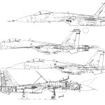 Su-27 blueprint