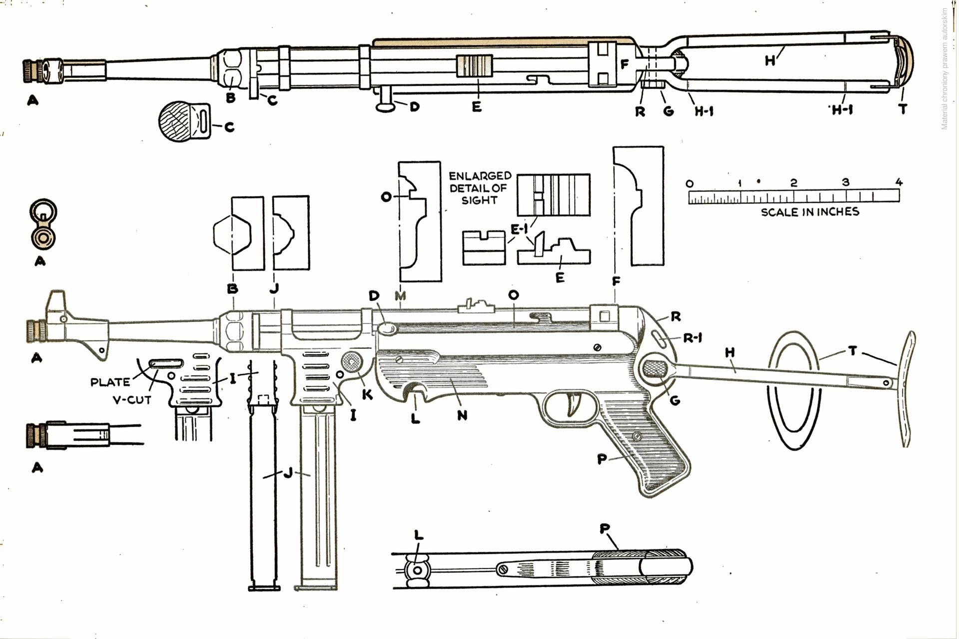 MP 40 blueprint