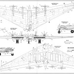 Northrop Xb-35 blueprint