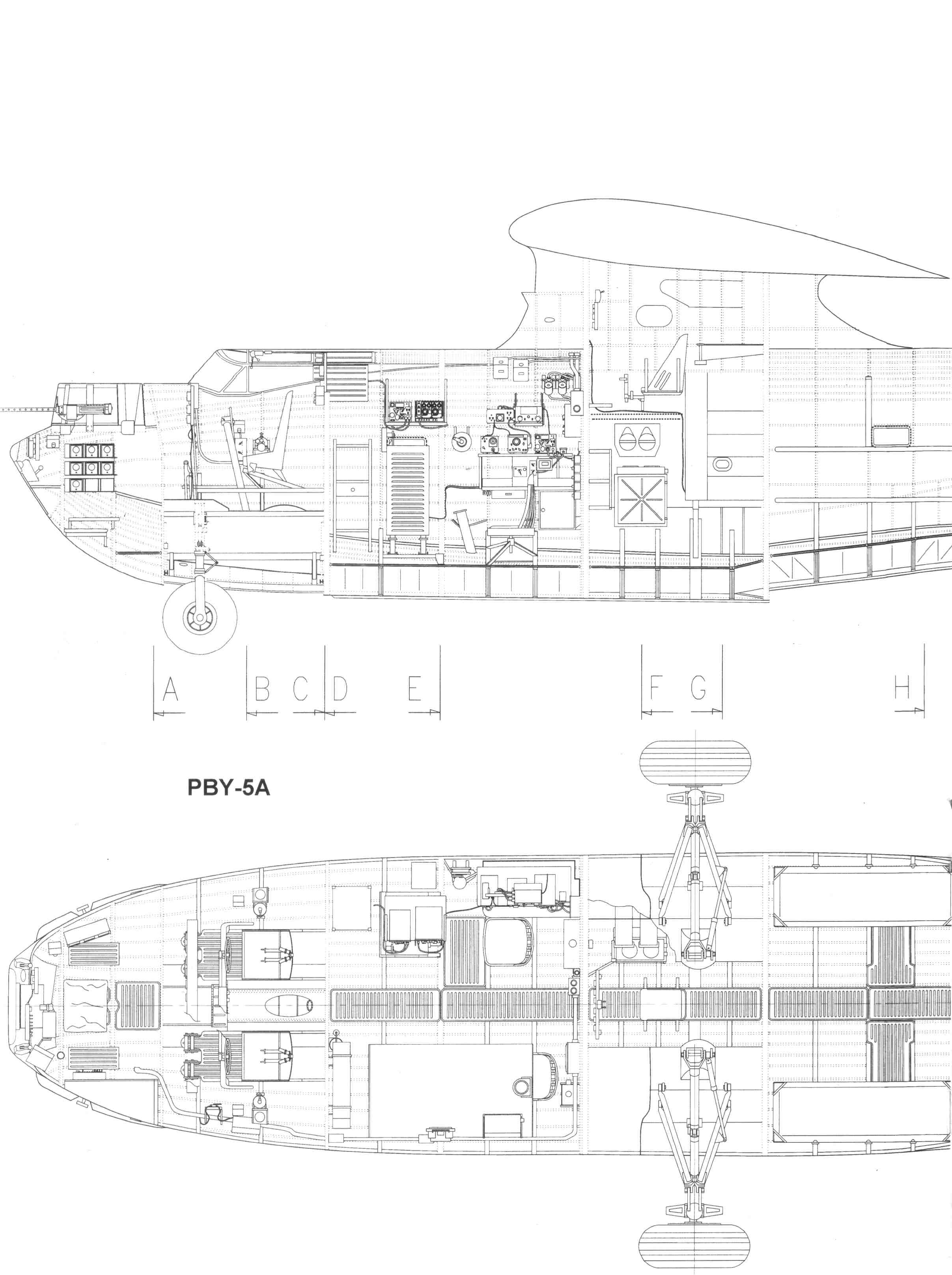 Consolidated pby catalina blueprint download free for Free 3d blueprints