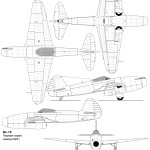 Yak-15 blueprint