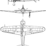 A6M2 Zero blueprint