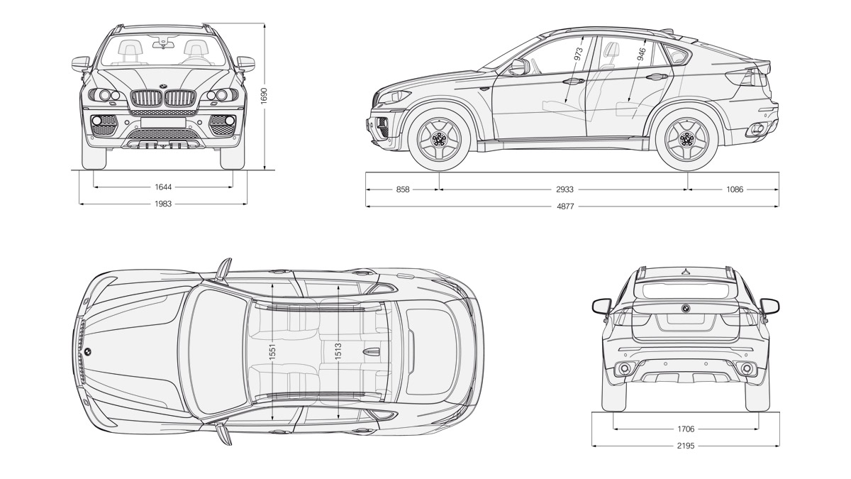 Bmw X6 Blueprint Download Free Blueprint For 3d Modeling