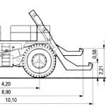 BelAZ 7426 blueprint
