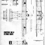 Curtiss NC-4 blueprint