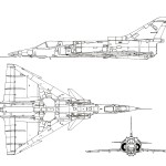 IAI Kfir blueprint