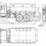 KrAZ-255 blueprint