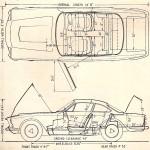 Maserati Sebring blueprint