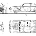 Opel Manta blueprint