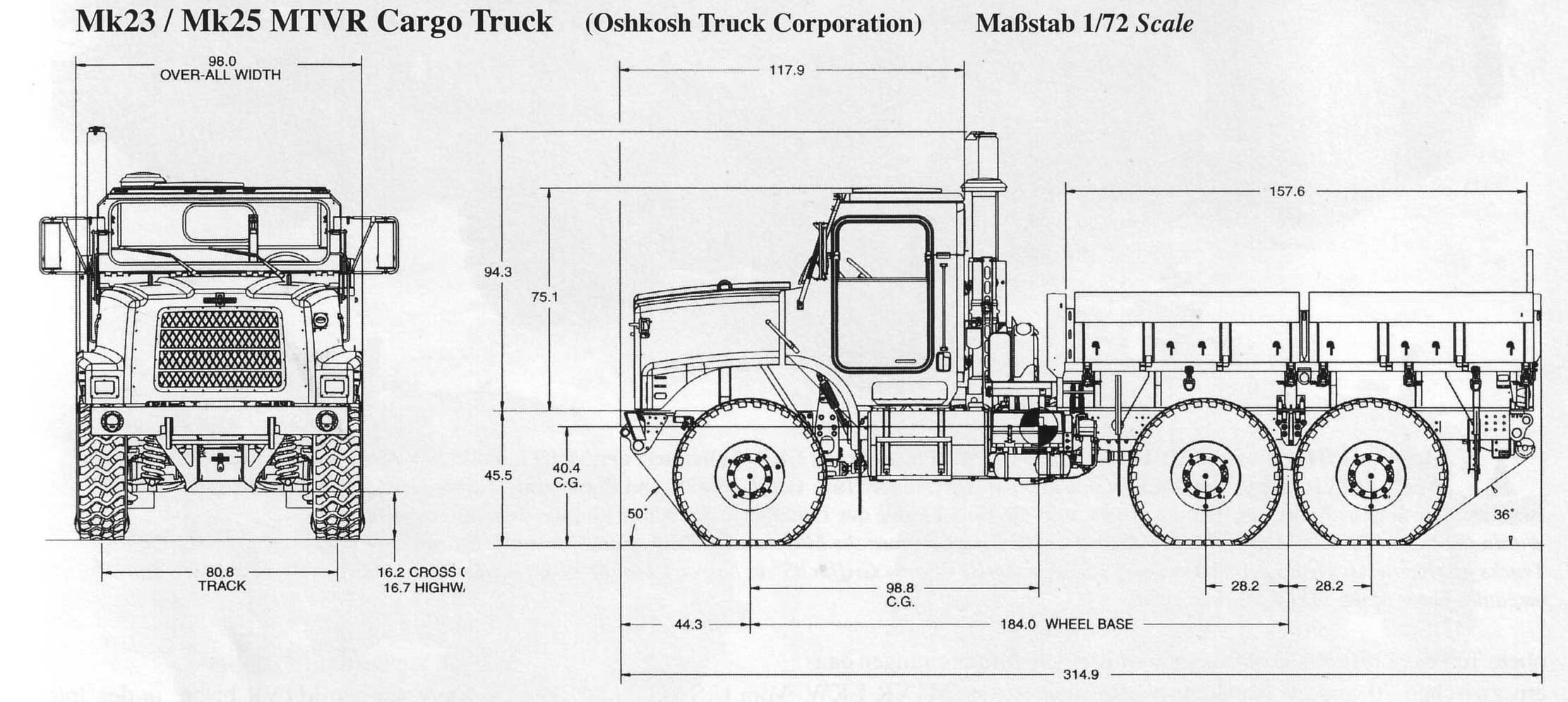 Oshkosh Mk23 25 Blueprint Download Free Blueprint For 3d