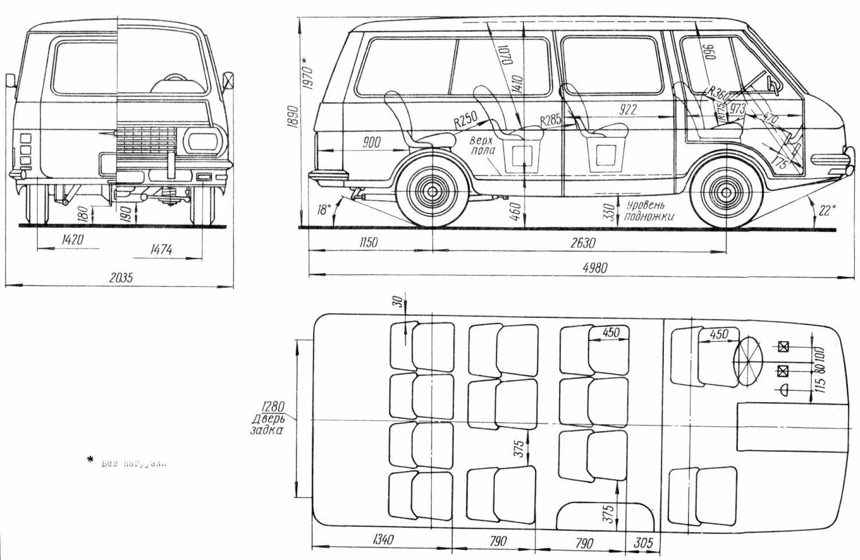 RAF-2203 blueprint
