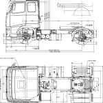 Volvo FH blueprint