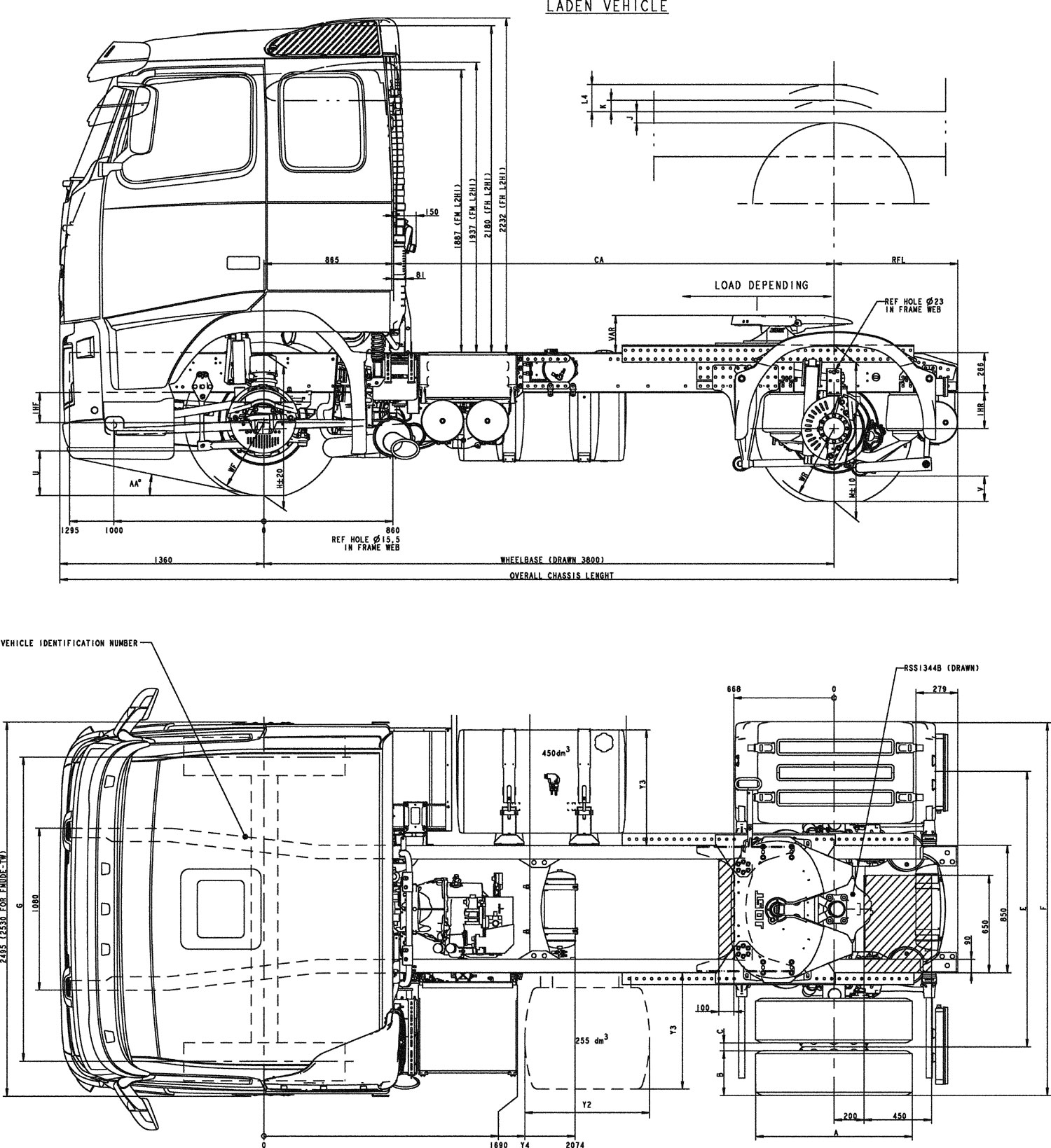 volvo fh 2007 blueprint