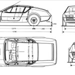 Alpine A310 blueprint