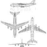 An-124 Ruslan blueprint