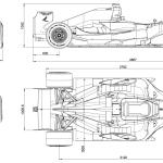 Dallara GP208 blueprint