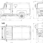 GAZ 2308 blueprint