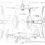Martin-Baker MB 5 blueprint