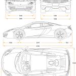 McLaren 12C blueprint