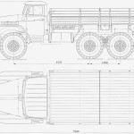 Ural 377 blueprint