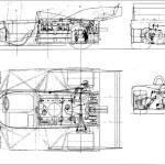 Porsche 917 blueprint