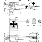 Albatros D.II blueprint