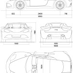 Artega GT blueprint
