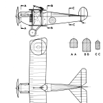 Austin-Ball A.F.B.1 blueprint