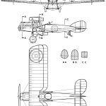 Bristol F.2 Fighter blueprint