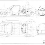 Porsche 904 blueprint