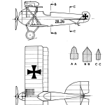 Hansa-Brandenburg D.I blueprint